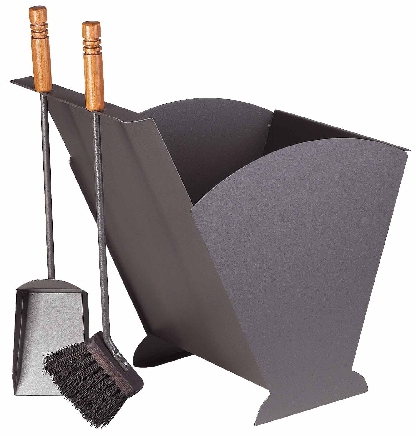 pelletsbeh lter sch ssmetall tyra anthrazit buche. Black Bedroom Furniture Sets. Home Design Ideas