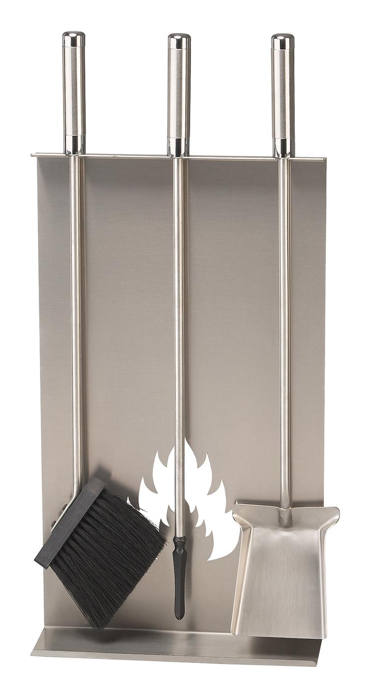 kaminbesteck sch ssmetall lendon 1 edelstahl matt. Black Bedroom Furniture Sets. Home Design Ideas