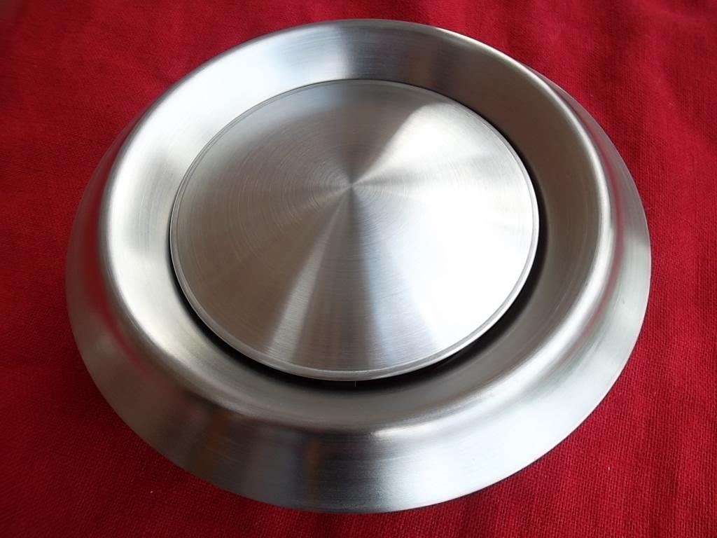 Aluflex Rohr Ø 200 mm Rosette für Thermoflex u weiß