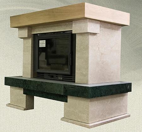 kaminverkleidung centaurus gerade oder eckvariante f r diverse kamineinsatz form. Black Bedroom Furniture Sets. Home Design Ideas