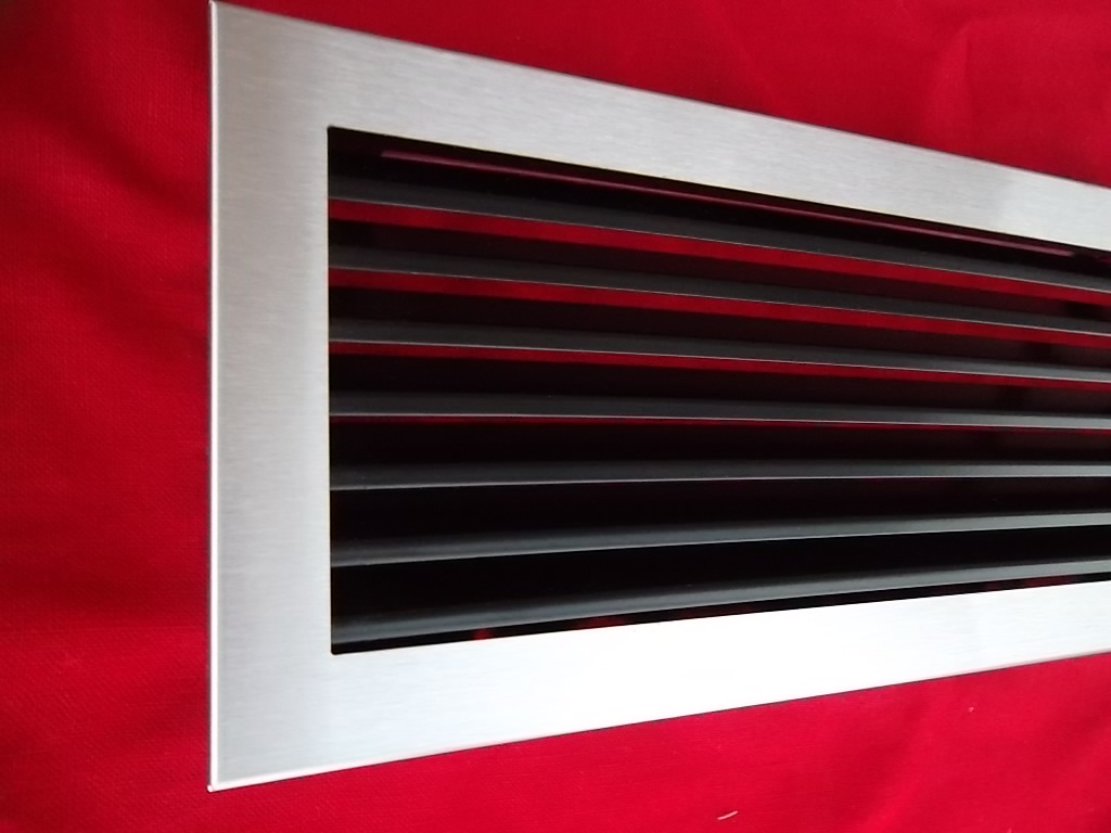 kamin gitter luftgitter edelstahl geb rstet bis 70 cm l nge l ftungsgitter grid ebay. Black Bedroom Furniture Sets. Home Design Ideas