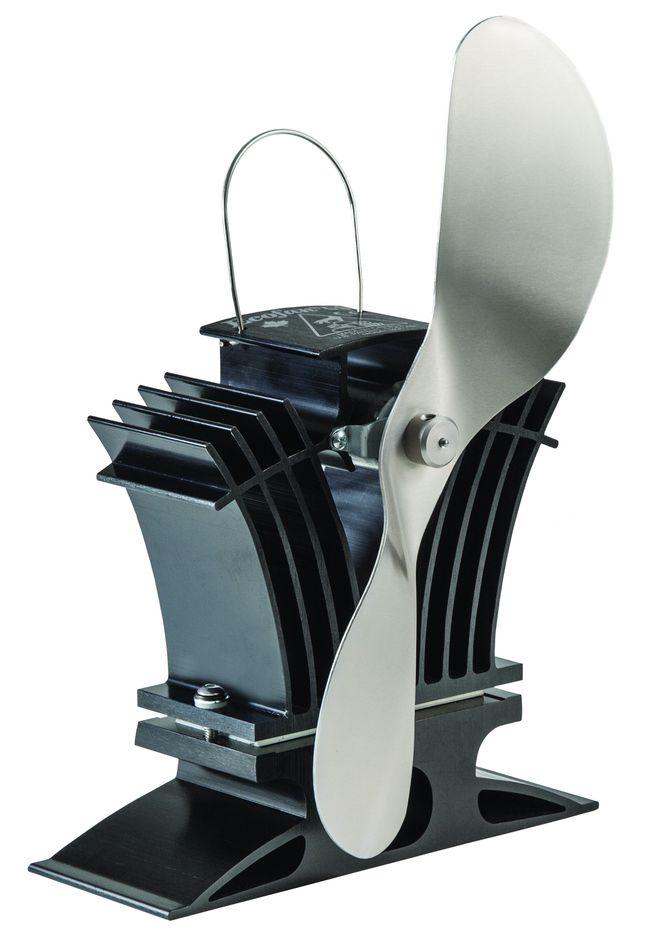 ecofan 806 belair stromloser kaminofen ventilator fl gelfarbe gold nickel schw. Black Bedroom Furniture Sets. Home Design Ideas
