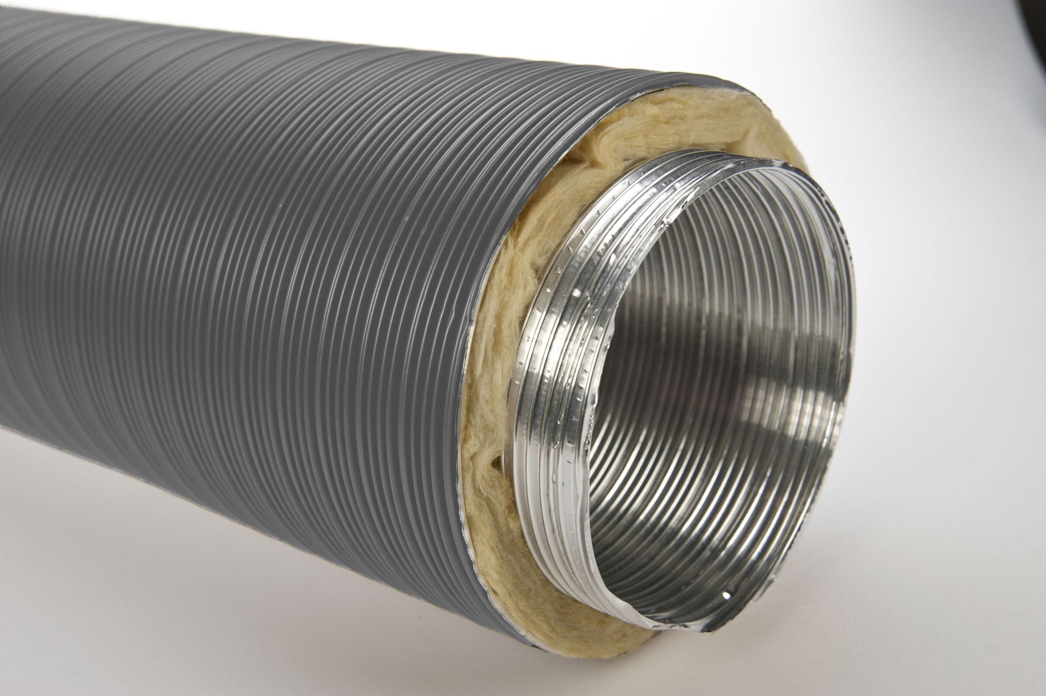 isolierte elastische Aluflex Thermoflex DN 160 mm x 5 m