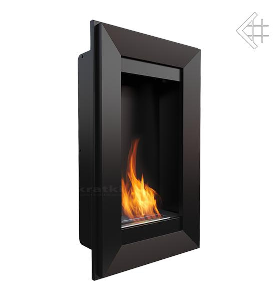 bio ethanol kamin charlie 2 schwarz wandkamin deko bioethanol wand kamin. Black Bedroom Furniture Sets. Home Design Ideas