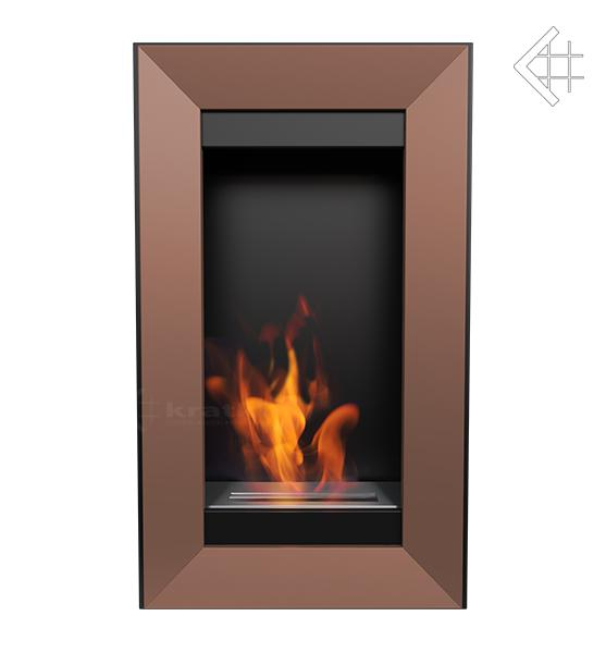 bio ethanol kamin charlie 2 kupferfarben wandkamin deko bioethanol wand kamin ebay. Black Bedroom Furniture Sets. Home Design Ideas