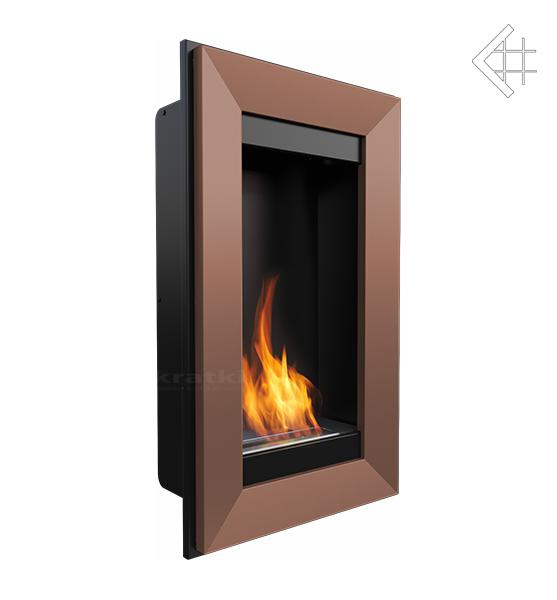 bio ethanol kamin charlie 2 kupferfarben wandkamin deko bioethanol wand kamin ebay. Black Bedroom Furniture Sets. Home Design Ideas