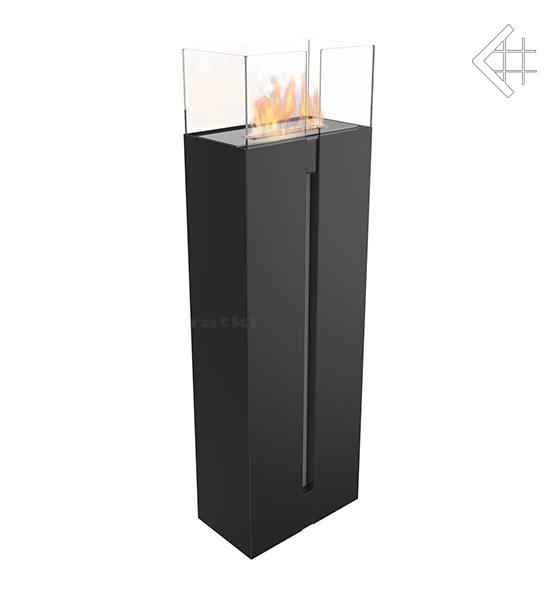 bio ethanol kamin romeo schwarz standkamin. Black Bedroom Furniture Sets. Home Design Ideas
