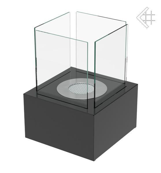 Bio ethanol kamin tango 2 schwarz tischkamin design for Design tisch kamin