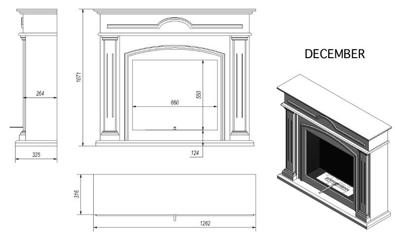 bio ethanol kamin december wei stand oder wand kamin bioethanol kamin englisch ebay. Black Bedroom Furniture Sets. Home Design Ideas