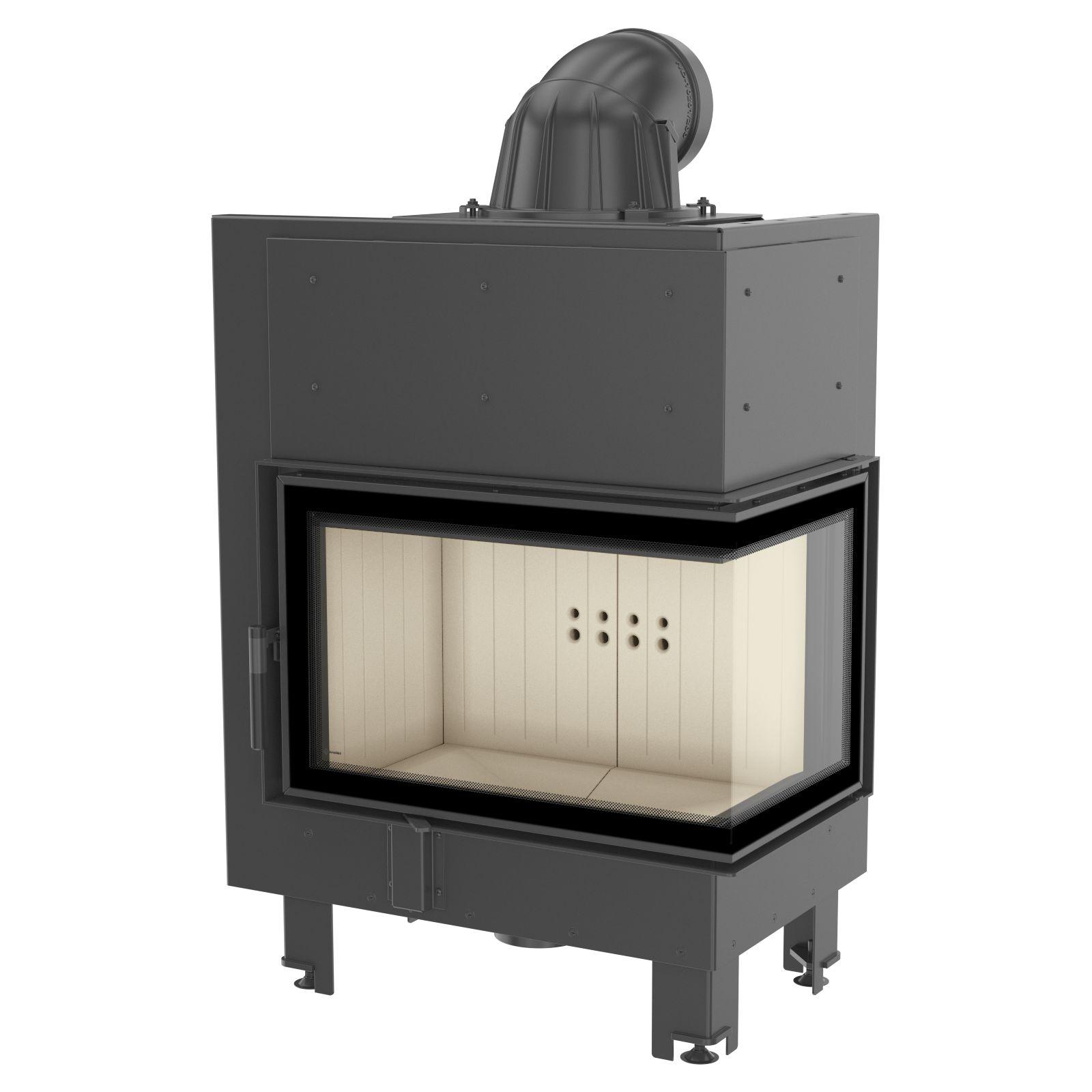 kamineinsatz kratki mbm 10 kw rechte seitenscheibe. Black Bedroom Furniture Sets. Home Design Ideas