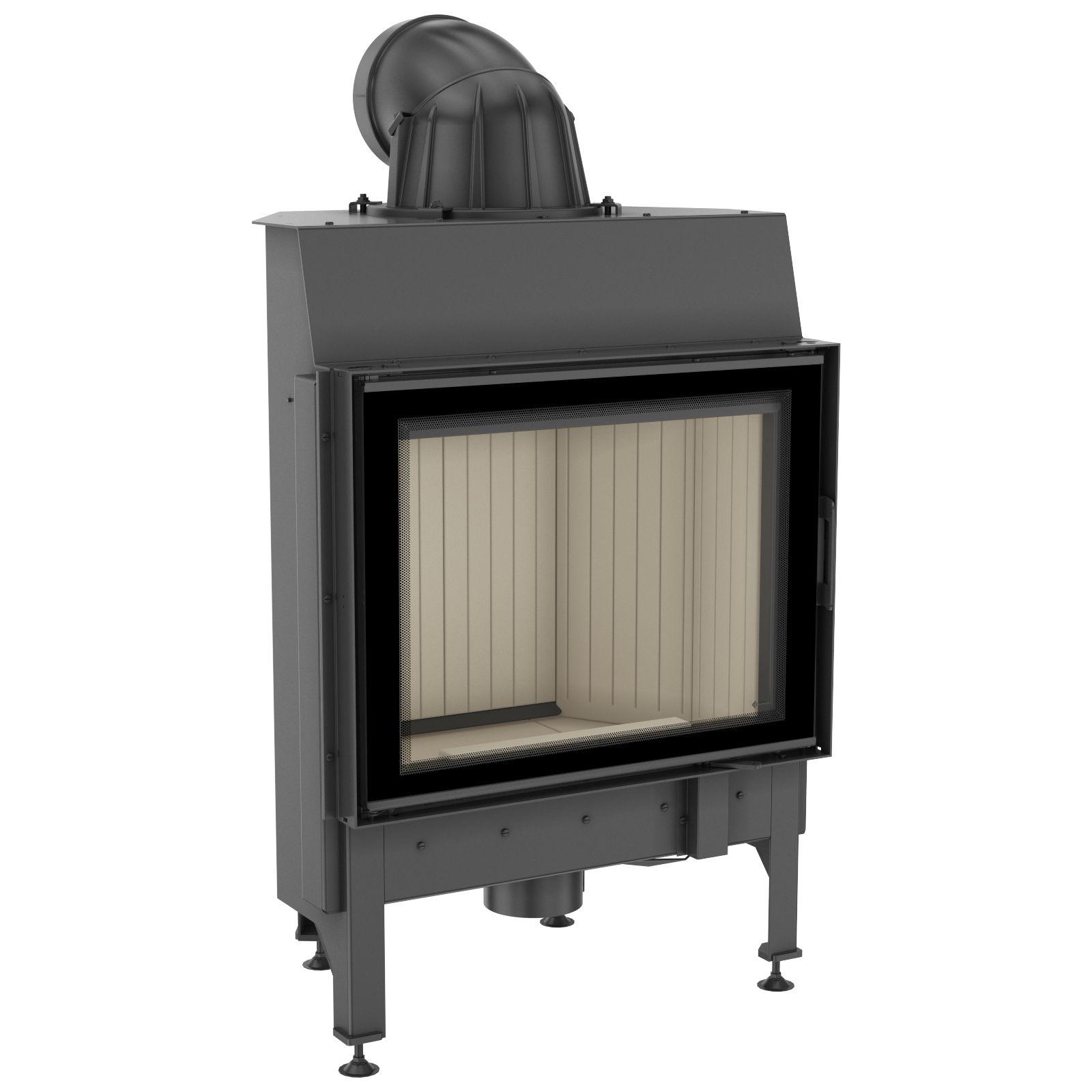kamineinsatz kratki nadia 10 mit 10 kw. Black Bedroom Furniture Sets. Home Design Ideas