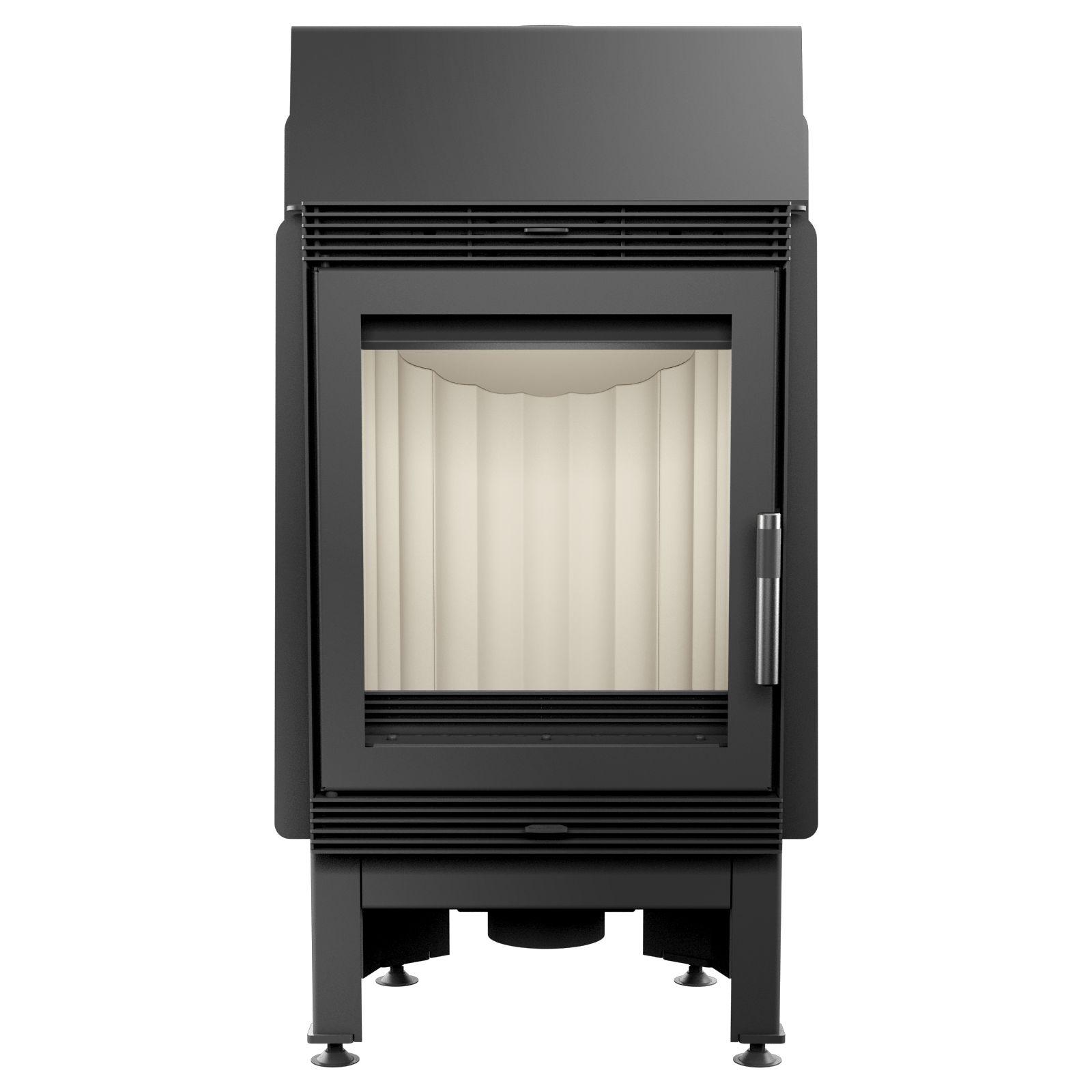 kamineinsatz kratki blanka 8 kw mit speichertechnik bausatz. Black Bedroom Furniture Sets. Home Design Ideas