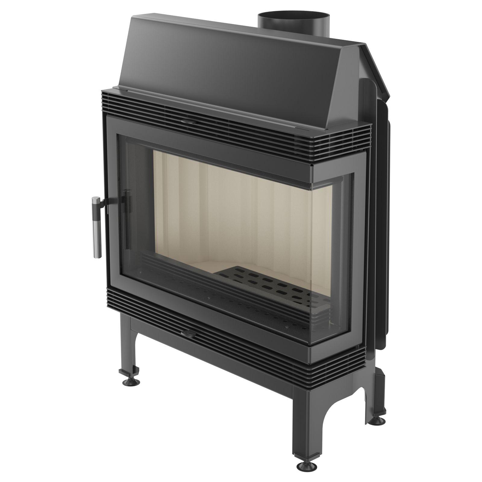 kamineinsatz kratki blanka 11 kw rechte seitenscheibe eck heizeinsatz 2 bimschv ebay. Black Bedroom Furniture Sets. Home Design Ideas