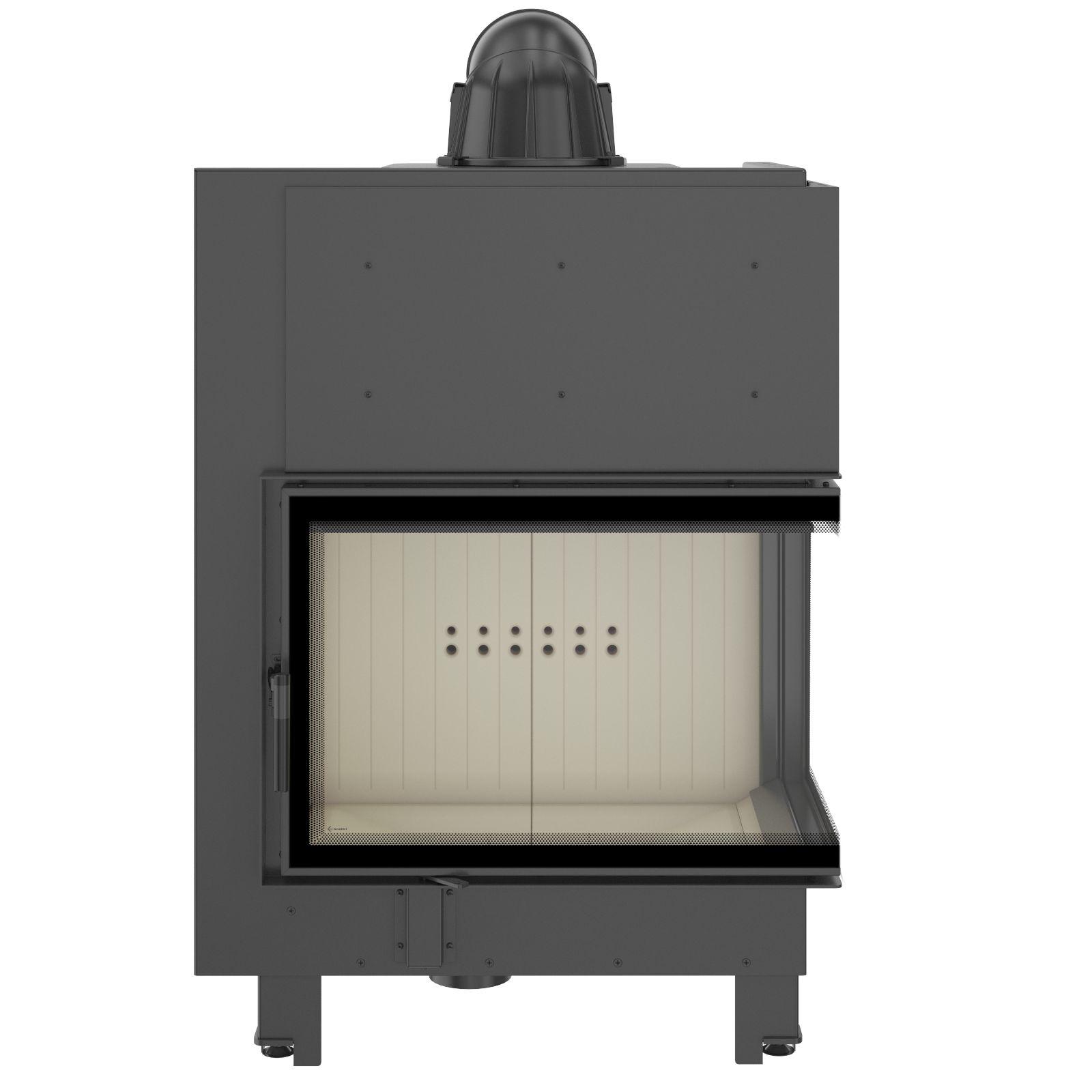 kamineinsatz kratki mba 17 kw rechte seitenscheibe. Black Bedroom Furniture Sets. Home Design Ideas