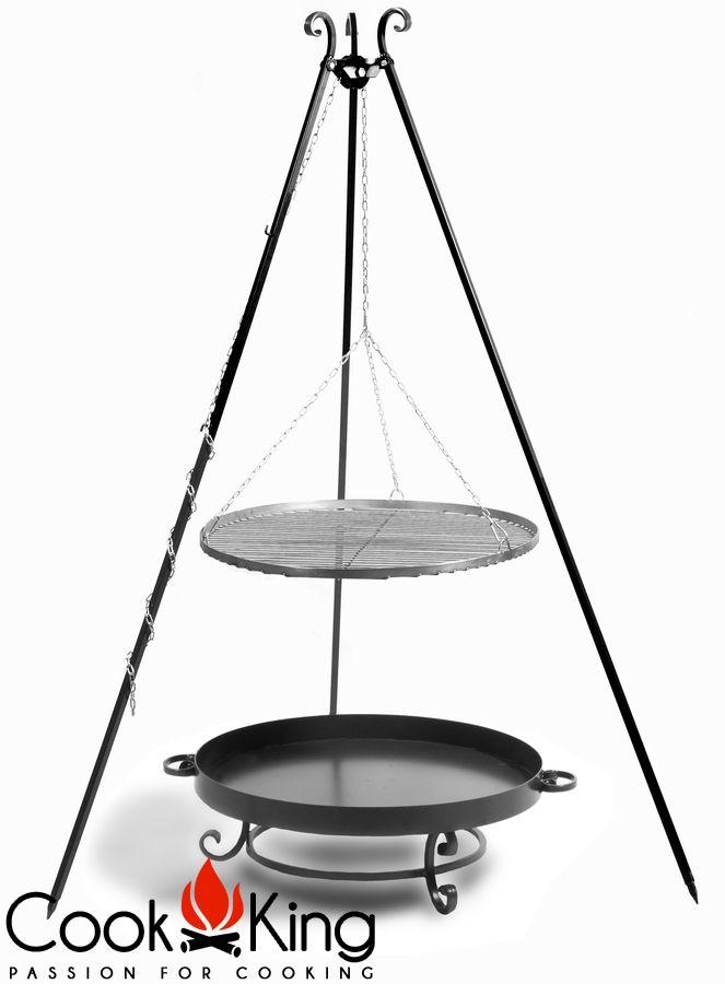 grillrost aus edelstahl rund durchmesser 50 60 oder 70 cm rost f r schwenkgrill ebay. Black Bedroom Furniture Sets. Home Design Ideas