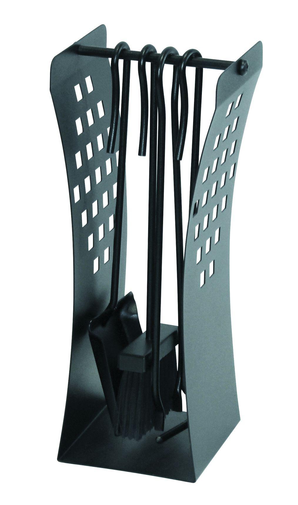 kaminbesteck lienbacher schwarz 4teilig. Black Bedroom Furniture Sets. Home Design Ideas