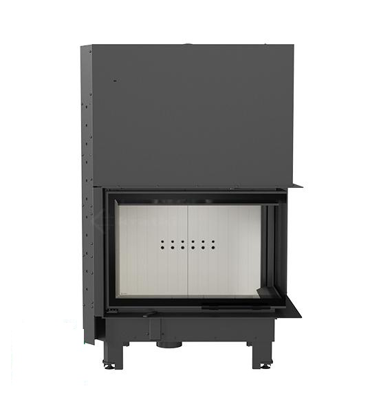 kamineinsatz kratki mba 17 kw seitenscheibe rechts mit hebet r. Black Bedroom Furniture Sets. Home Design Ideas