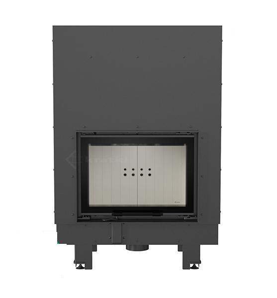 kamineinsatz kratki mbm 10 kw mit hebet r schiebet r. Black Bedroom Furniture Sets. Home Design Ideas