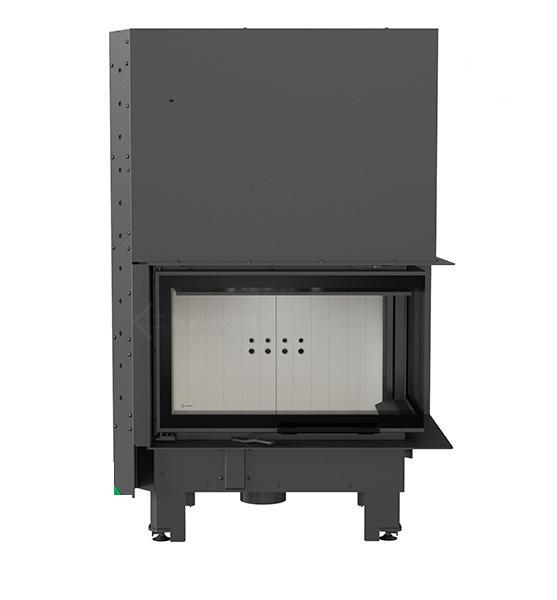 kamineinsatz kratki mbm 10 kw seitenscheibe rechts mit hebet r. Black Bedroom Furniture Sets. Home Design Ideas