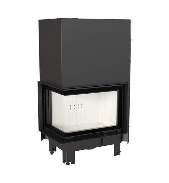 kamineinsatz kratki mbz 13 kw seitenscheibe links mit hebet r eck heizeinsatz ebay. Black Bedroom Furniture Sets. Home Design Ideas