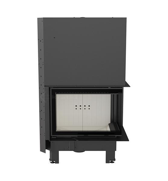 kamineinsatz kratki mbz 13 kw seitenscheibe rechts mit. Black Bedroom Furniture Sets. Home Design Ideas