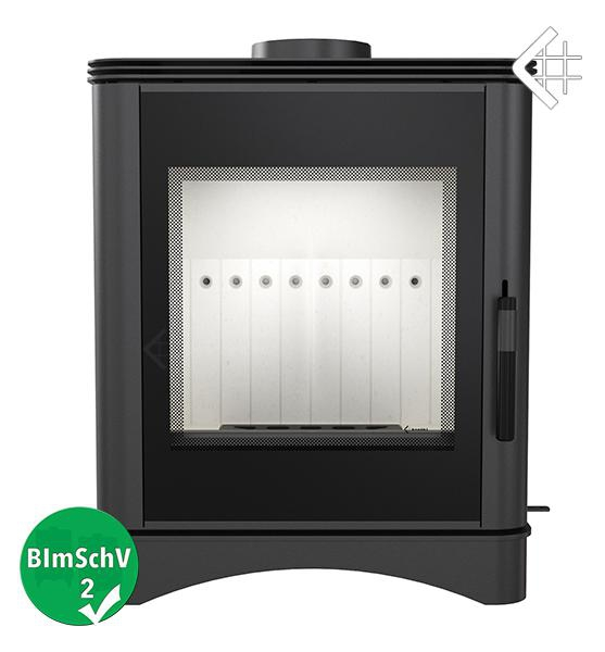 kaminofen kratki koza vega schwarz 5 kw werkstattofen ofen. Black Bedroom Furniture Sets. Home Design Ideas
