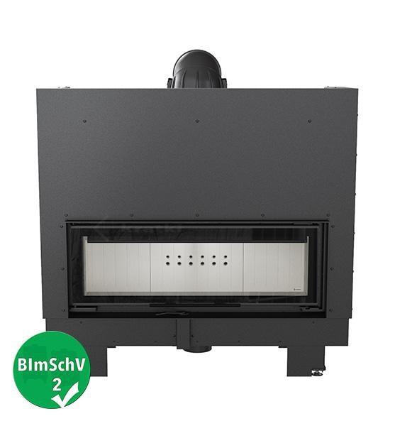 kamineinsatz kratki mb 100 mit 14 kw mit hebet r. Black Bedroom Furniture Sets. Home Design Ideas