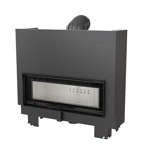 kamineinsatz kratki mb 100 mit 14 kw mit hebet r schiebet r mit 95 cm breiter. Black Bedroom Furniture Sets. Home Design Ideas