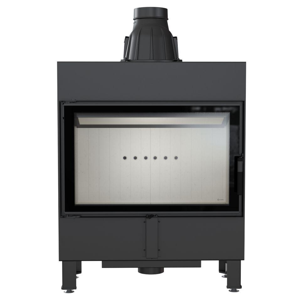 kamineinsatz kratki lucy 14 mit 4 9 kw flach slim. Black Bedroom Furniture Sets. Home Design Ideas