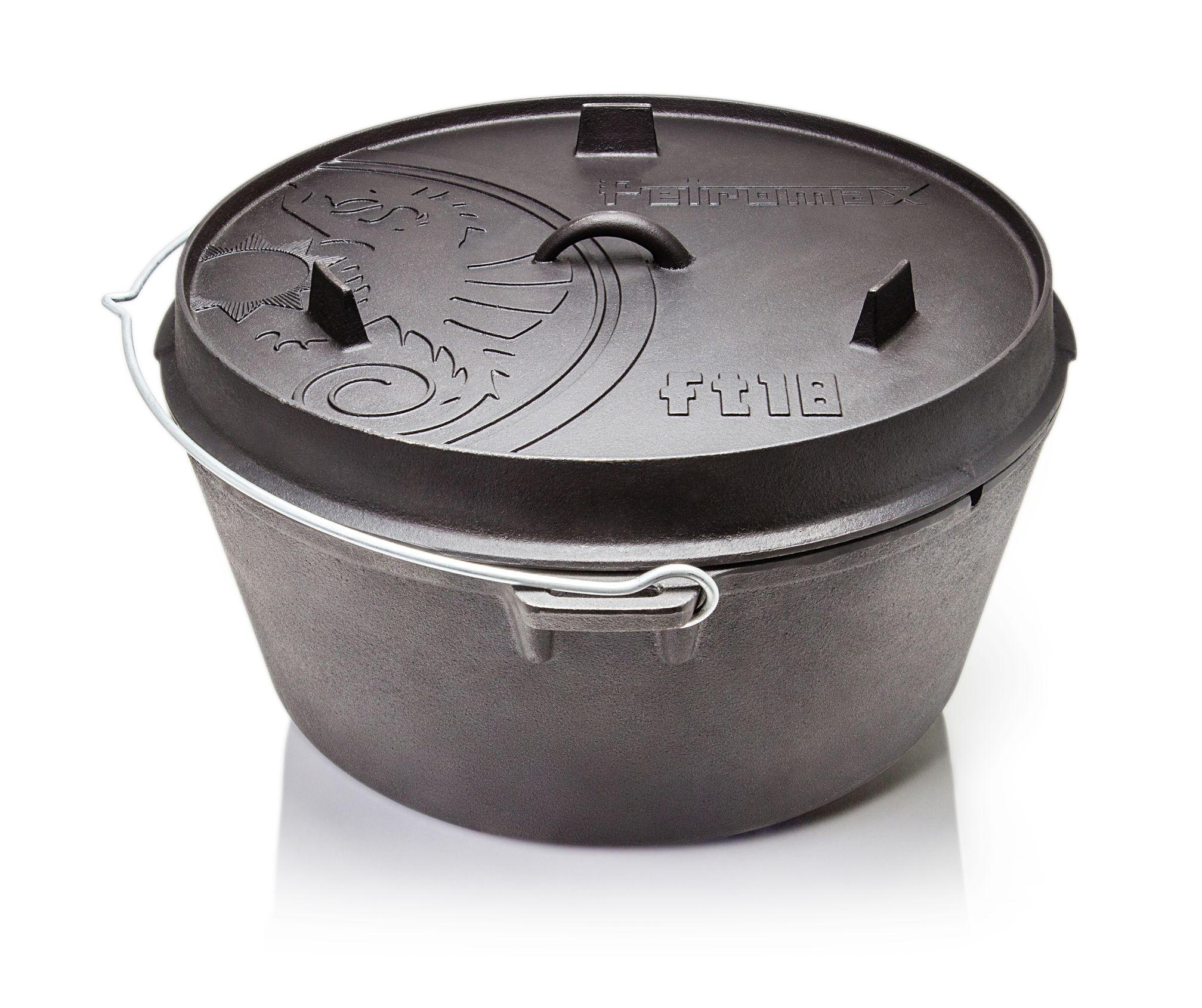 Petromax FT 3 Kochtopf Feuertopf Dutch Oven aus Gusseisen NEU mit Füsse