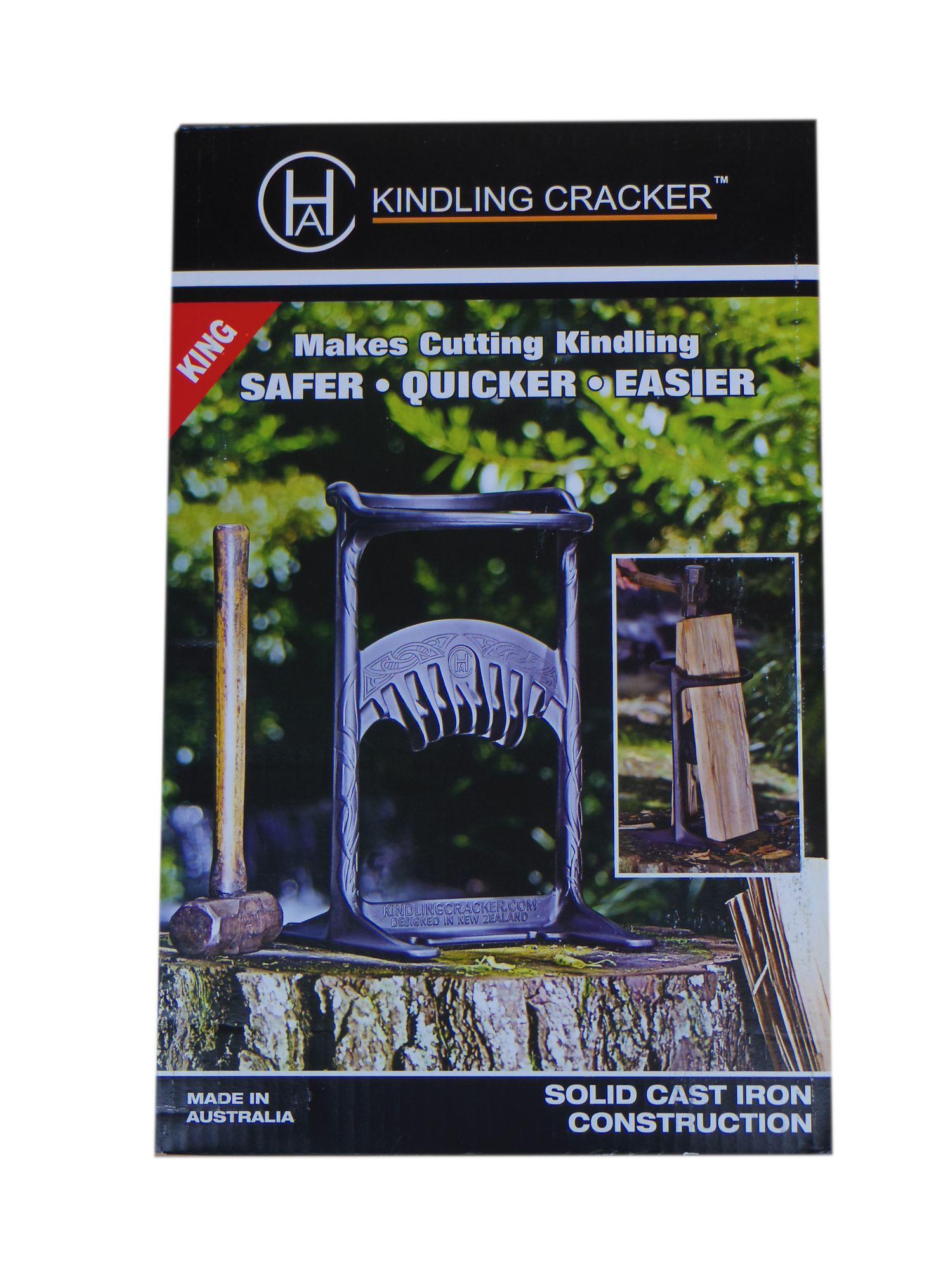 Holzspalter Kindling Cracker King Höhe 43 cm für Kaminholz Brennholz bis Ø 22 cm