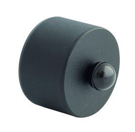 pelletofenrohr kondensatdeckel blinddeckel schwarz durchmesser dn 80 oder 100 m. Black Bedroom Furniture Sets. Home Design Ideas