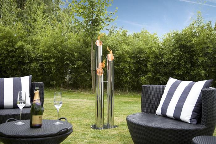 ethanol kamin pipes gro. Black Bedroom Furniture Sets. Home Design Ideas