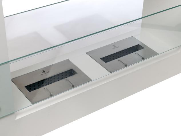 ethanol kamin qube gro wei. Black Bedroom Furniture Sets. Home Design Ideas