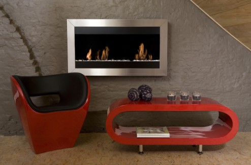 ethanol kamin square gro ii edelstahl. Black Bedroom Furniture Sets. Home Design Ideas