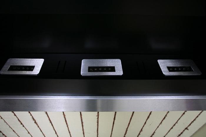 ethanol kamin square klein ii edelstahl. Black Bedroom Furniture Sets. Home Design Ideas