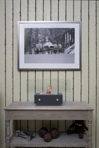 ethanol kamin valetta schwarz. Black Bedroom Furniture Sets. Home Design Ideas