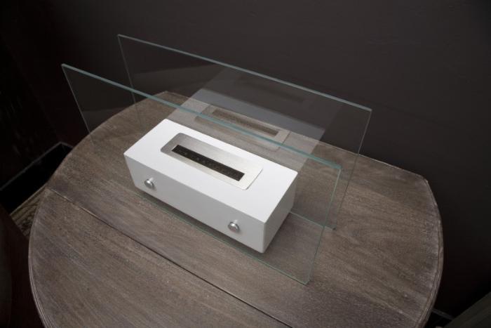 ethanol kamin valetta braun. Black Bedroom Furniture Sets. Home Design Ideas