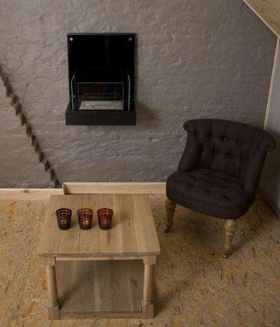 ethanol kamin velona schwarz. Black Bedroom Furniture Sets. Home Design Ideas