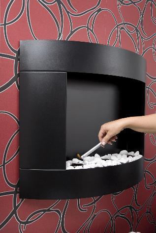 ethanol kamin diamond ii schwarz. Black Bedroom Furniture Sets. Home Design Ideas